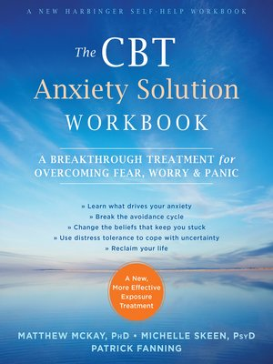 cover image of The CBT Anxiety Solution Workbook